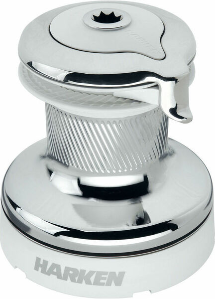 Harken 60 Self-Tailing Radial White Winch 2 Speed