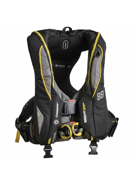 Crewsaver ErgoFit 290N Extreme - Auto with harness, light & hood