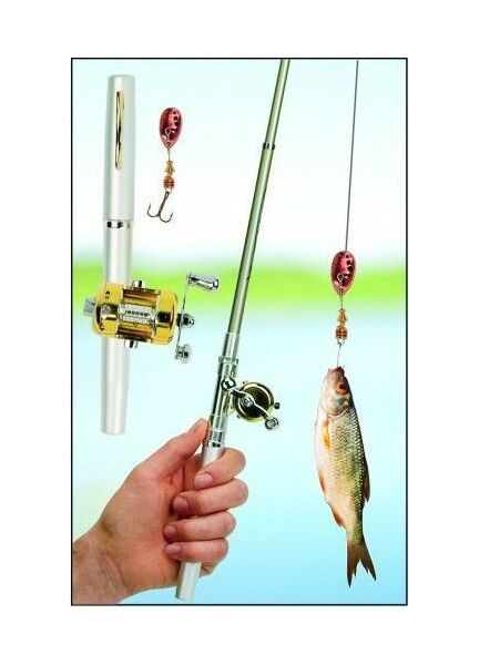 Nauticalia Pen Fishing Rod
