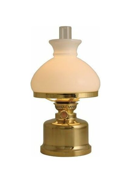 Nauticalia Old Danish Brass Table Lamp - Electric