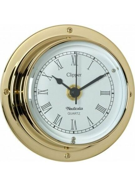 Nauticalia Brass Clipper Clock (quick fix)